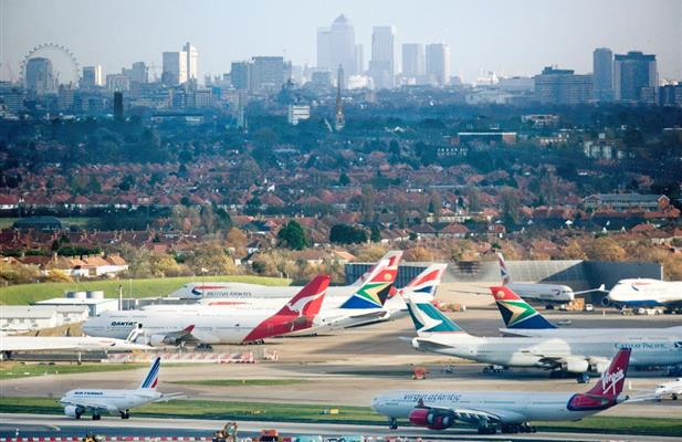 Rekord i Heathrow